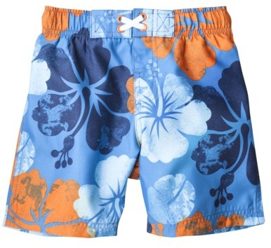Circo Infant Toddler Boys' Hibiscus Swim Trunk