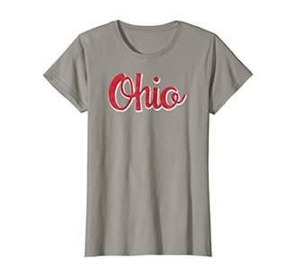 Womens Ohio tshirt - Classic Ohio Script