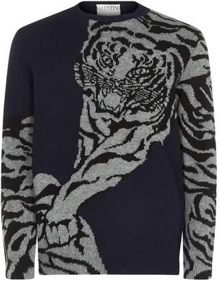 Valentino Tiger Sweater