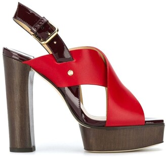 Jimmy Choo Aix platform sandals