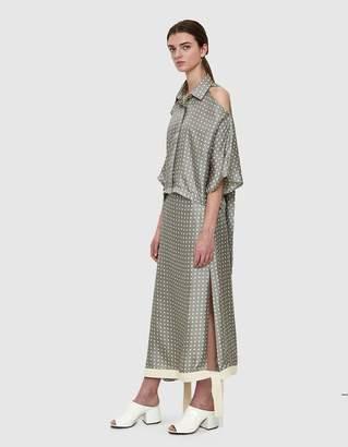 Walk Of Shame Polka Dot Silk Skirt