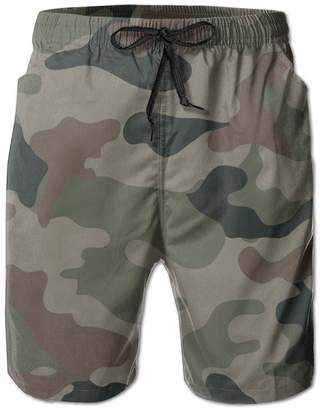 d5b0ec86d5 Trunks AIEUSHR Camouflage Boardshorts Seaside Men's Tropical Swim Quick Dry  Beach Board Shorts Fashion Short Beach