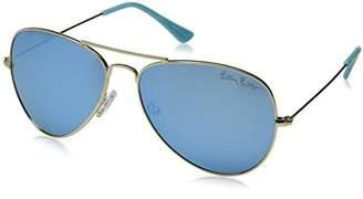 Lilly Pulitzer Women's Lexy Polarized Aviator Sunglasses