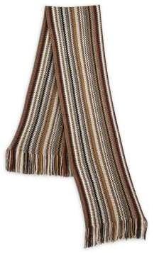 Saks Fifth Avenue MODERN Textured Stripe Scarf