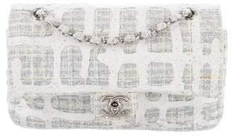 65dd785aaff7 Chanel Painted Tweed Classic Medium Double Flap Bag