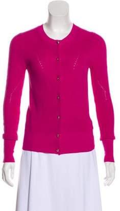Trina Turk Knit Button-Up Cardigan