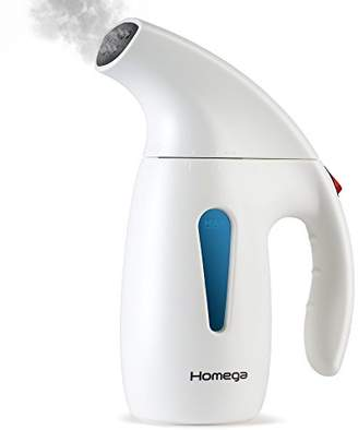 Homega Garment Steamer 180ml Capacity Hand Steamer for Clothes Heats Up in 2min - Portable Steamer Ideal for Home & Travel with Automatic Shut Off System - Travel Pouch & Protective Glove Included