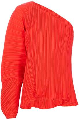 Alice McCall Cherry Cola One Shoulder Top