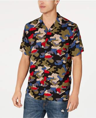 American Rag Men Camo Rain Shirt