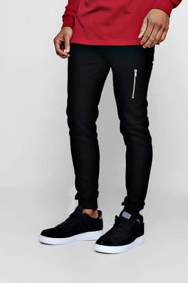 boohoo Skinny Joggers with MA1 Side Pocket