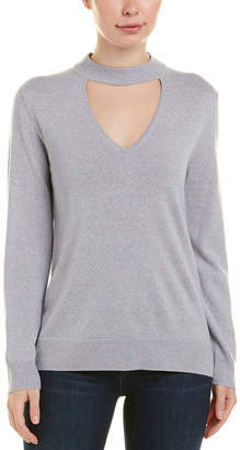 Trina Turk Cutout Wool Top