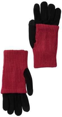 Steve Madden Double Layer Tech Gloves
