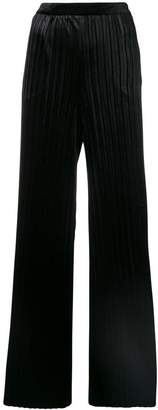 Blumarine high-waisted pleated trousers
