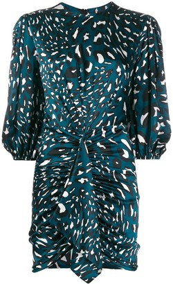 Alexandre Vauthier leopard print mini dress