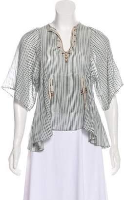 Etoile Isabel Marant Striped Tunic Top