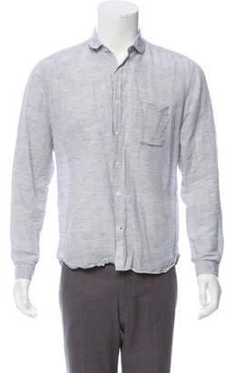 Oliver Spencer Striped Button-Up Shirt