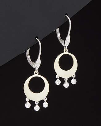 Meira T 14K Two-Tone 0.17 Ct. Tw. Diamond Drop Earrings