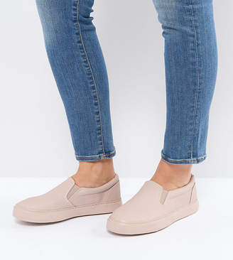 Asos DIANNA Wide Fit Slip On Sneakers