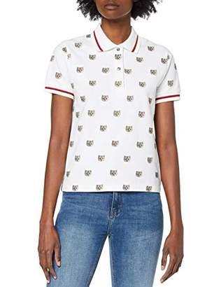 Paul & Joe Sister Women's 9CHRIS Polo Shirt, (Blanc/White 01), Large