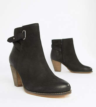 Carvela Leather Western Heeled Ankle Boots