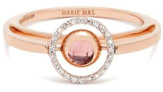 Marie Mas - Diamond, Amethyst, Topaz & Pink Gold Ring - Womens - Pink