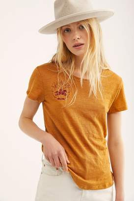 Understated Leather Giddy Up Embroidered Tee