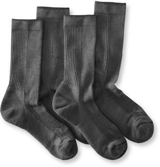 L.L. Bean L.L.Bean Men's Everyday Chino Socks, Midweight Two-Pack