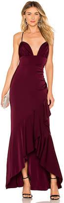 Majorelle Sangria Gown