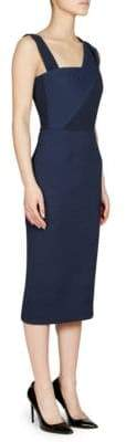 Roland Mouret Elsom Sash Strap Sheath Dress