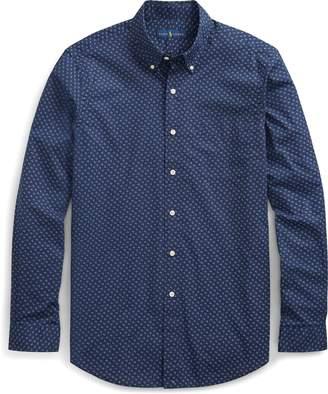 Ralph Lauren Classic Fit Print Poplin Shirt