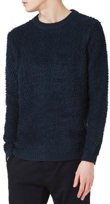 Men's Topman Plush Fleece Sweater $70 thestylecure.com