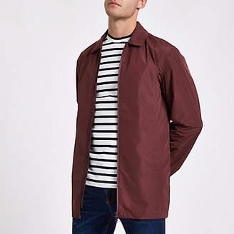 River Island Minimum red lightweight jacket