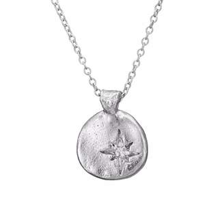 Chupi - Your North Star Necklace in Silver