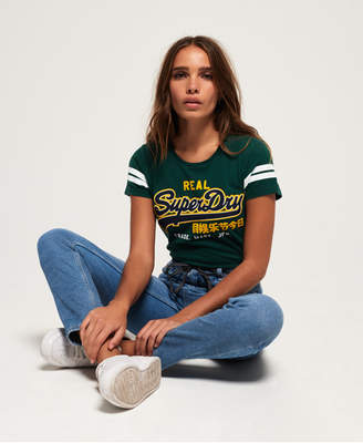 Superdry Vintage Logo Mock Applique T-Shirt