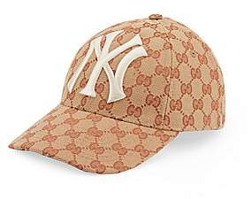 Gucci Women's Baseball Hat With NY YankeesTM Patch
