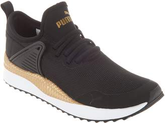 Puma Metallic Lace-Up Sneakers - Pacer Next