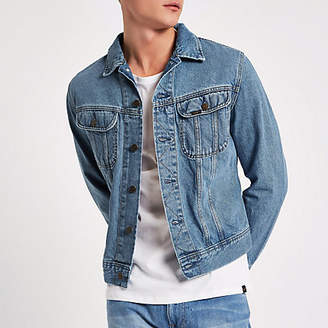 River Island Lee light blue slim fit denim jacket