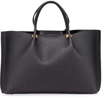 Valentino Garavani Go Logo Escape Medium Leather Tote Bag