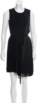 Gucci Belted Velvet Dress