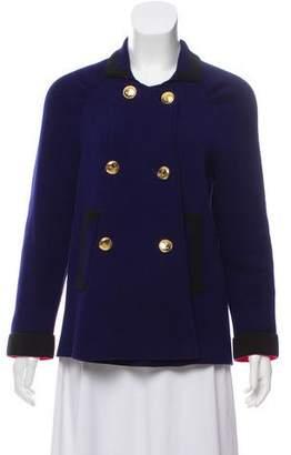 Sonia Rykiel Sonia by Knit Double-Breasted Jacket