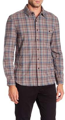 Velvet Woven Plaid Classic Fit Shirt