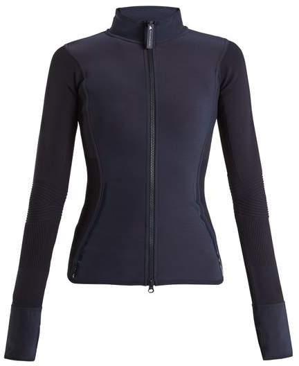 Run zip-through performance jacket