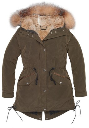 Andrew Marc GWEN 3 IN 1 FUR LINED PARKA