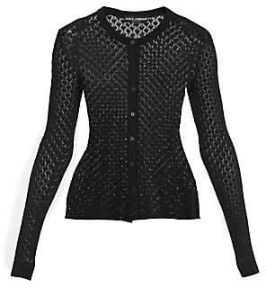 Dolce & Gabbana Women's Lace Detail Cardigan