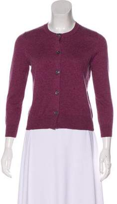 Etoile Isabel Marant Long Sleeve Crew Neck Cardigan