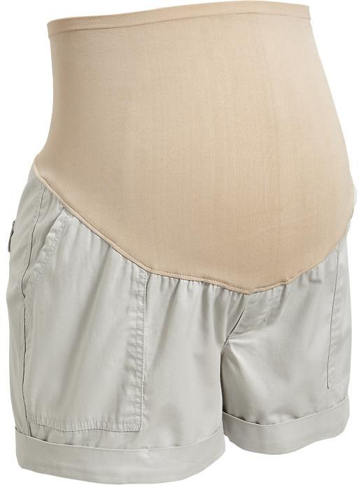 """Old Navy Maternity Smooth-Panel Cuffed Shorts (4"""")"""