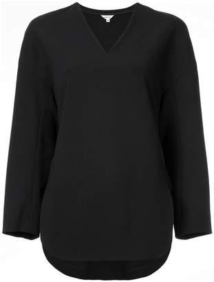 Enfold v-neck fitted blouse