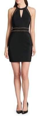 GUESS Halter Sheath Dress