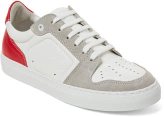 Ami Alexandre Mattiussi Leather Low-Top Sneakers