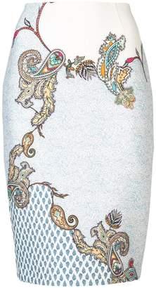 Yigal Azrouel paisley print skirt